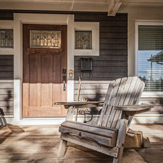 Transitional Porch by Becki Peckham
