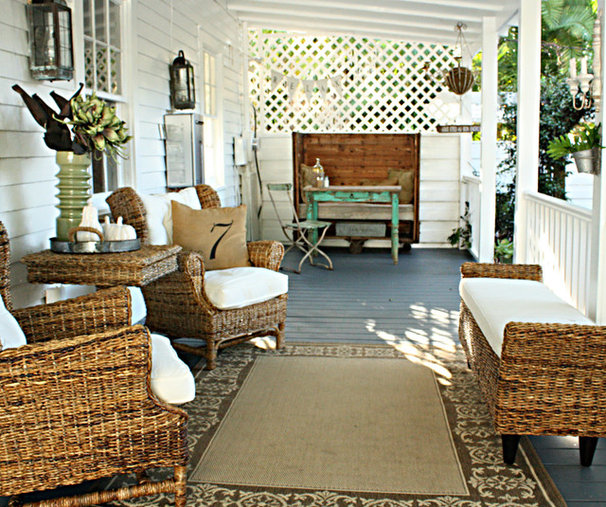 Eclectic Porch by Mina Brinkey