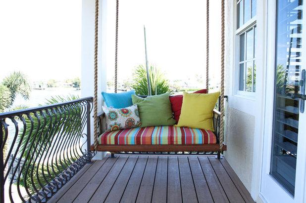 Mediterranean Porch by Mina Brinkey