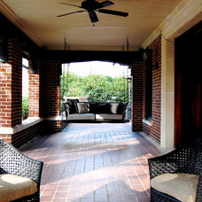 Traditional Porch by Corynne Pless