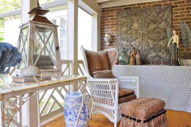 Eclectic Porch by CM Glover
