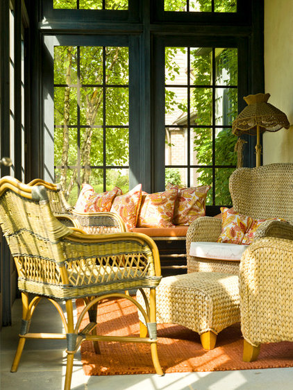 traditional porch by Cynthia Lynn Photography