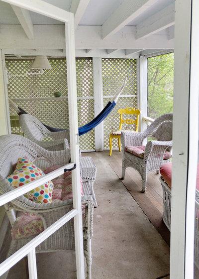 Farmhouse Sunroom by Rikki Snyder