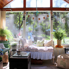 Eclectic Porch by Sara Bates
