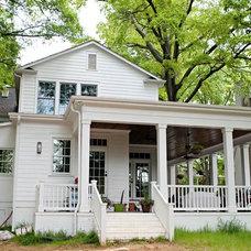 Farmhouse Porch by Pace Development Group, Inc.