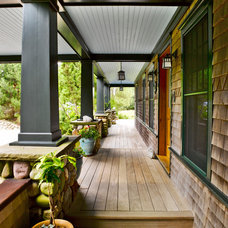 Traditional Porch by Nantucket Architecture Group Ltd.