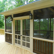 Traditional Porch by Northern Deckworks