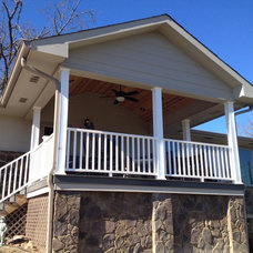 Traditional Porch by Embark Project Services, LLC