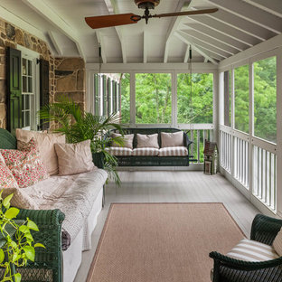 Classic Screened In Porch Idea In Philadelphia