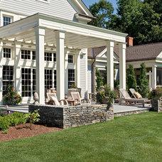 Traditional Patio by Greylock Design Associates
