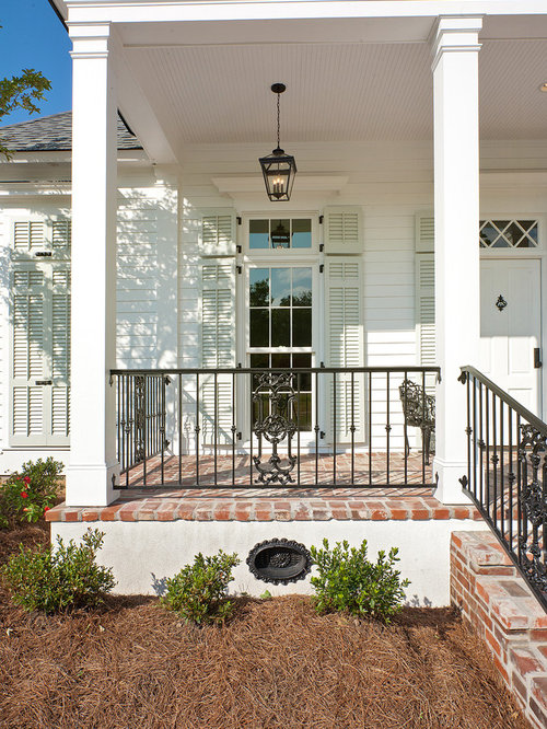 Iron Front Porch Railing Ideas Pictures Remodel And Decor