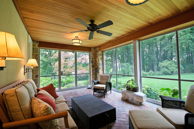 Traditional Porch by Spencer-Abbott, Inc.