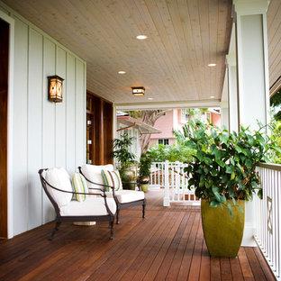 Inspiration för en tropisk veranda