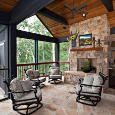 Traditional Porch by Armin L. Wessel Architect, Inc.