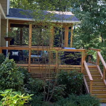 North Shelby County Deck and Porch Update