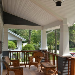 traditional porch by Frank Falino Architect