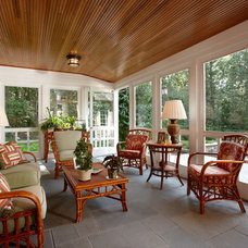 Traditional Porch by Howell Custom Building Group