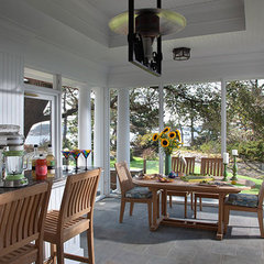 traditional porch by TMS Architects