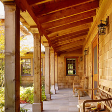 Traditional Porch by The Wiseman Group Interior Design, Inc