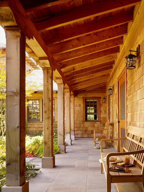 Cedar Posts Houzz