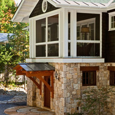 Traditional Porch by Phinney Design Group