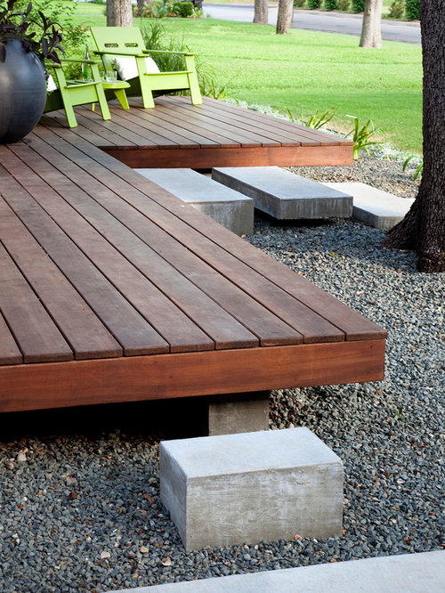 Floating deck houzz for Outdoor floating deck
