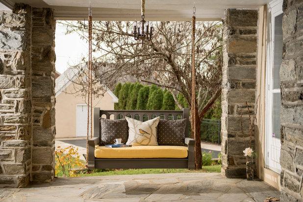 Traditional Porch by Nostalgic Porch Swing Co., LLC