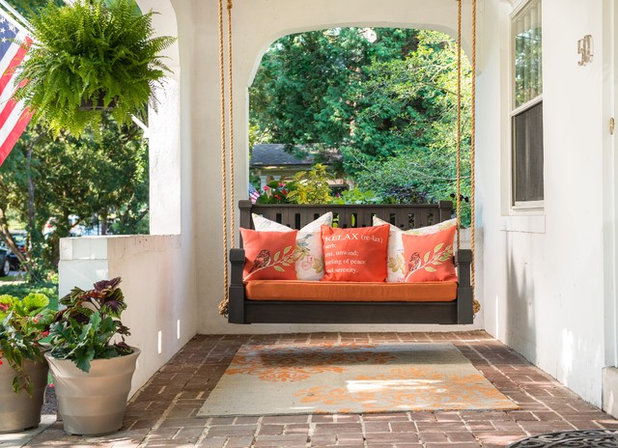 Mediterranean Porch by Nostalgic Porch Swing Co., LLC
