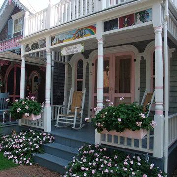 Oak Bluffs Painted Ladies