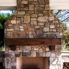 Rustic Porch by Trestlewood