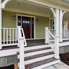 Traditional Porch by Tradition Homes
