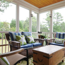 Contemporary Porch by Pat Shankle