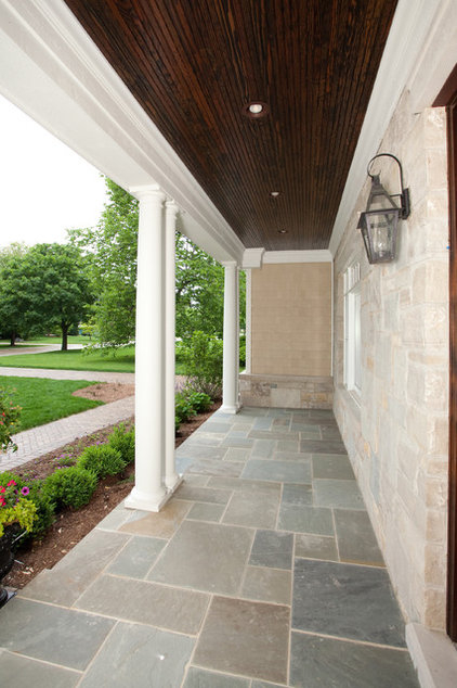 Porch by Oakley Home Builders