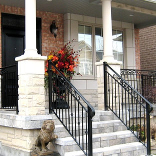Inspiration for a timeless porch remodel in Toronto