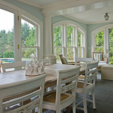 Traditional Porch by Anthony Catalfano Interiors Inc.