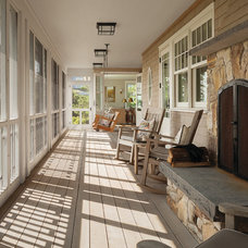 Beach Style Porch by Marvin Windows and Doors