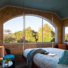 Beach Style Porch by George Penniman Architects, LLC