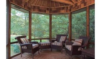 Octagonal Screen Porch
