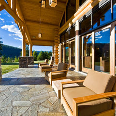 traditional porch by Sticks and Stones Design Group Inc