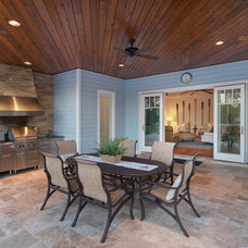 Tropical Porch by Weber Design Group, Inc.
