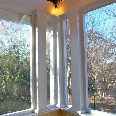 Old North Durham Screened Porch