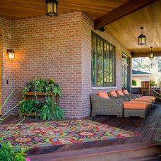 Traditional Porch by restyle design, llc