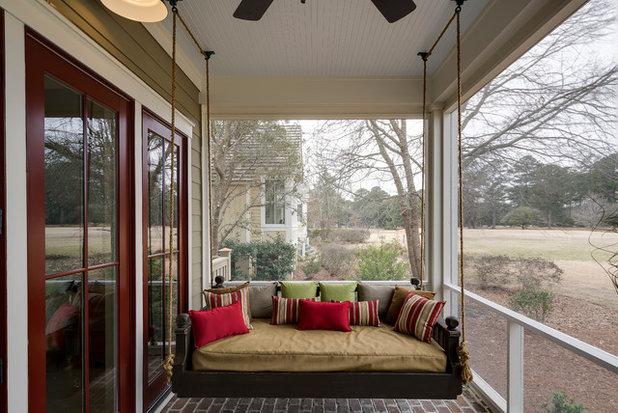 Modern Porch by Coastal Signature Homes