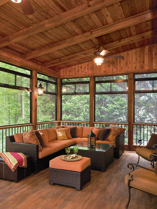 Open Back Porch Houzz