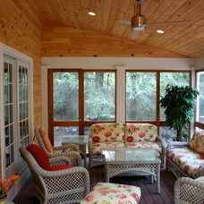 Traditional Porch by Michael Hally Design, Inc