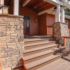 Traditional Porch by Bonny Weil General Contractor