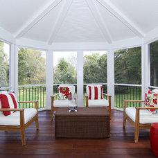 Traditional Porch by Plekkenpol Builders, Inc.