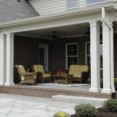 traditional porch by Gemini Homes Inc.