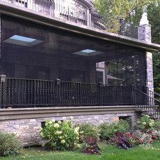 Contemporary Porch by ResCom Designs