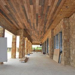 Outdoor paneling - Karen Dawson- Designer, R.J. Aldridge- Builder